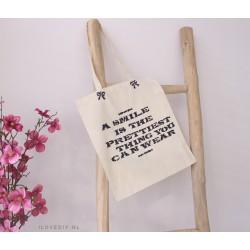 DIY-pakket: canvas tas met textielverf en sjablonen