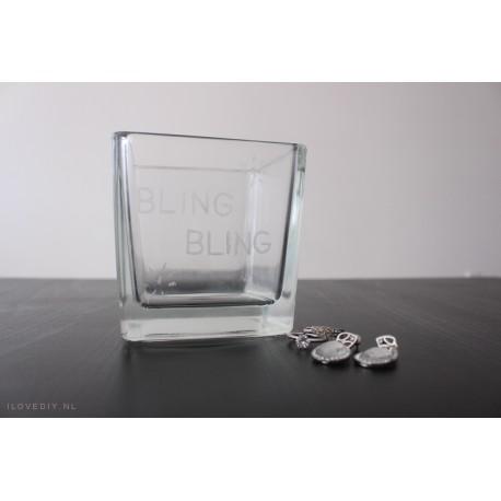 DIY-pakket: glas graveren