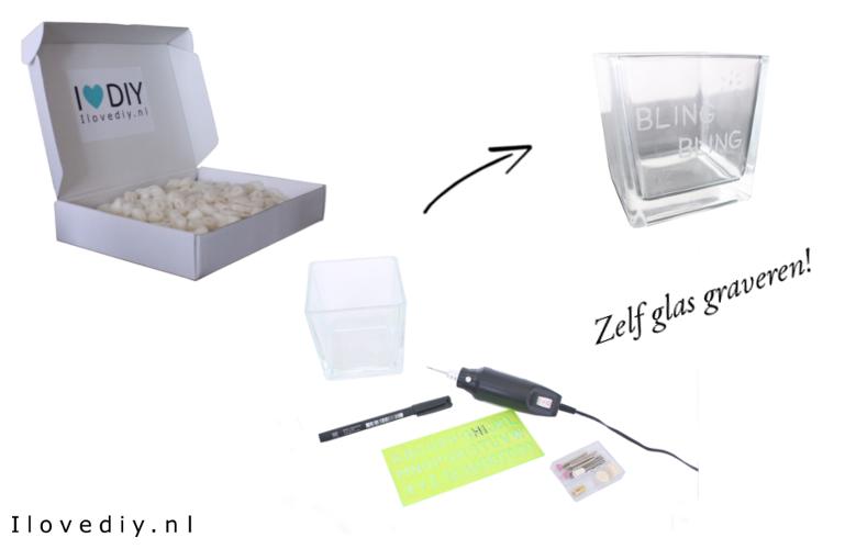 DIY zelf glas graveren